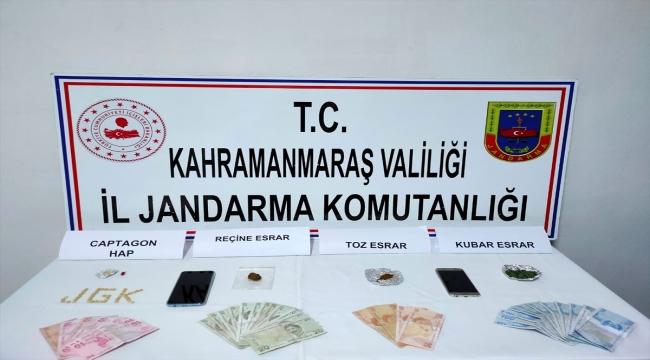 Kahramanmaraş'ta uyuşturucu operasyonun: 2 gözaltı