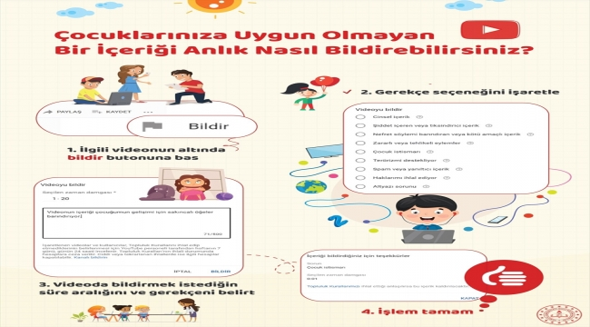 MEB'den uygunsuz içerikli videolar konusunda ailelere uyarı