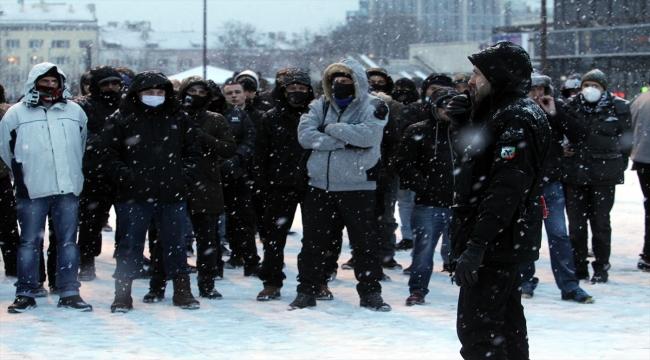 Sofya'da ırkçı milliyetçilerin meşaleli yürüyüşü yasaklandı