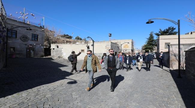 Yurt dışından gelen sosyal medya fenomenleri Kayseri'nin Talas ilçesini gezdi