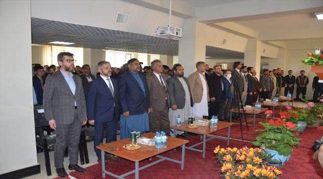 Afganistan-Türkiye dostluk ilişkilerinin 100. yılı Pervan Üniversitesinde kutlandı