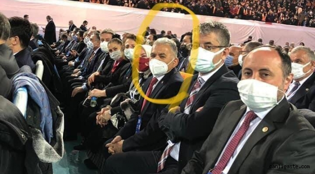 Başkanım bu ne? Memduh Başkandan kongre pozu