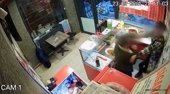 Çiğ köfte dürümü çalışana fırlatan saldırgan 'silahla yaralama'dan yargılanacak