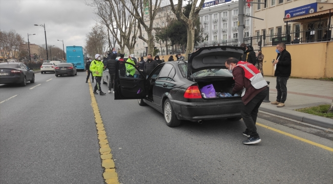 """İstanbul'da """"Yeditepe Huzur Uygulaması"""" yapıldı"""
