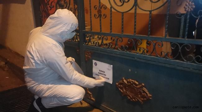 Kocaeli'nin Darıca ilçesinde 5 bina karantinaya alındı