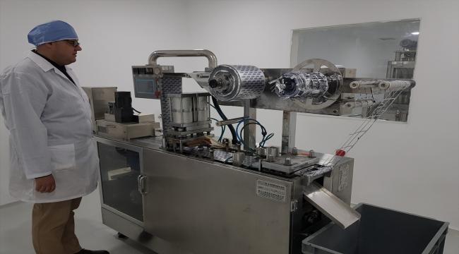 Suriye'nin kuzeyindeki Afrin'de ilaç fabrikası kuruldu