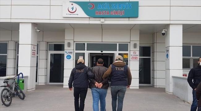 Aksaray'da FETÖ operasyonunda yakalanan eski komiser yardımcısı tutuklandı