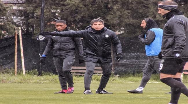 Altay, Bursaspor maçının hazırlıklarını sürdürdü