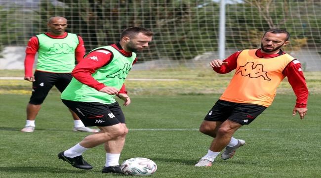 Antalyaspor, MKE Ankaragücü maçı hazırlıklarını sürdürdü