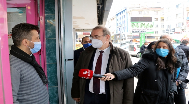 CHP Ekonomi Masası Heyeti, Çankırı'da esnafın sorunlarını dinledi