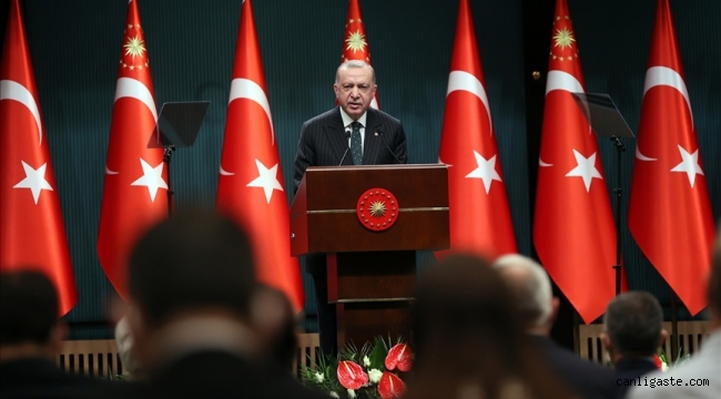 Cumhurbaşkanı Erdoğan: 29 Nisan'dan 17 Mayıs'a kadar tam kapanmaya geçiyoruz