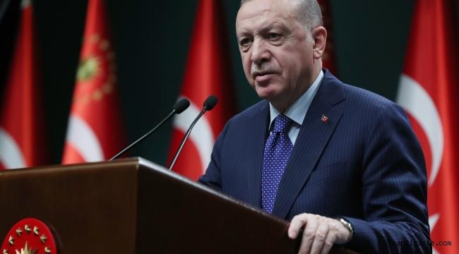 Cumhurbaşkanı Erdoğan: Ramazan ayının ilk iki haftasında kısmi kapanma sürecine geçiyoruz