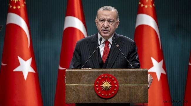 Cumhurbaşkanı Erdoğan: Anaokulu, kreş, 8'inci ve 12'nci sınıflar dahil, tüm kurumlarda yüz yüze eğitime ara verilecek, tüm sınavlar ertelenecektir
