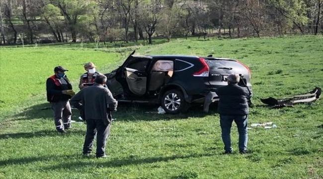 Erzurum'un Olur Kaymakamı ve Belediye Başkanı trafik kazasında yaralandı