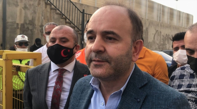 Gaziantep-Büyükşehir Belediye Erzurumspor maçının ardından