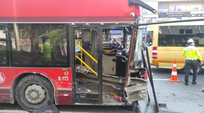 GÜNCELLEME - Beşiktaş'ta bariyerlere çarpan çift katlı otobüsteki bir yolcu hayatını kaybetti