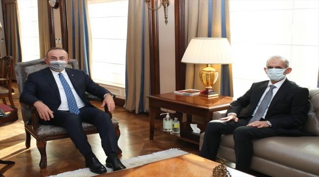 GÜNCELLEME - Dışişleri Bakanı Çavuşoğlu, Irak Türkmen Cephesi Başkanı Turan'la görüştü