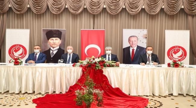 Hatay'da, Suriye Görev Gücü Koordinasyon ve Değerlendirme Toplantısı tapıldı