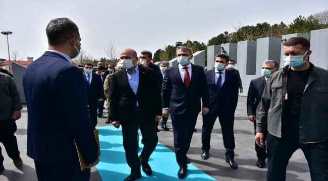 İçişleri Bakanı Süleyman Soylu Bingöl'de güvenlik toplantısına katıldı