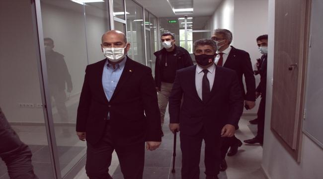 İçişleri Bakanı Süleyman Soylu, Bingöl'de incelemelerde bulundu