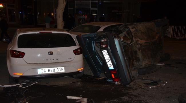 Kahramanmaraş'ta zincirleme kaza: 2 yaralı