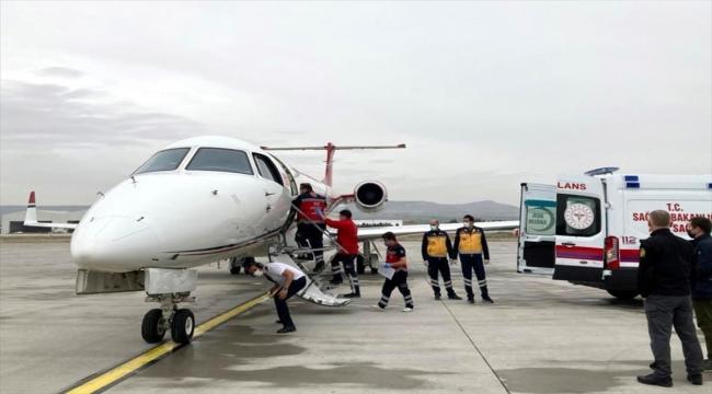 Kayseri'de dünyaya gelen ve kalp rahatsızlığı olan iki bebek ambulans uçaklarla Ankara ve İstanbul'a götürüldü
