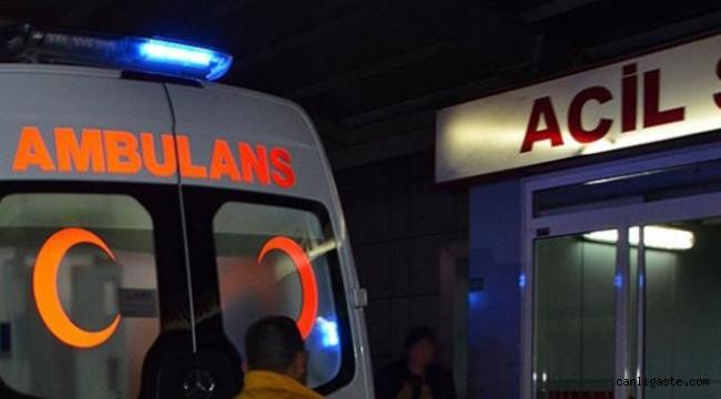 Kayseri'de yemeğin ocakta unutulmasıyla çıkan yangında bir kişi yaralandı