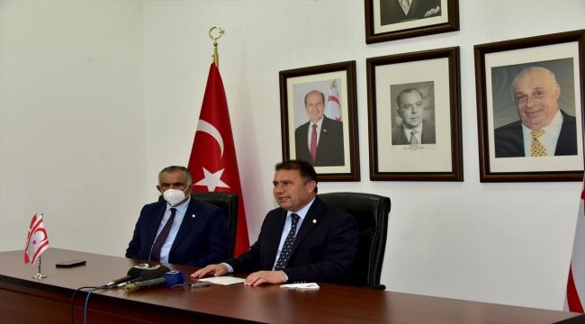 """KKTC Başbakanı Saner: """"Kıbrıs Türk tarafı Cenevre'de yapıcı bir tutum izledi"""""""