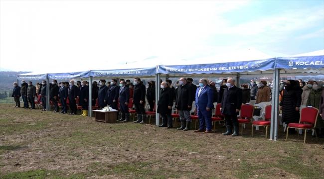 Kocaeli'de Türkiye Azerbaycan Kardeşlik Ormanı'na ilk fidanlar dikildi