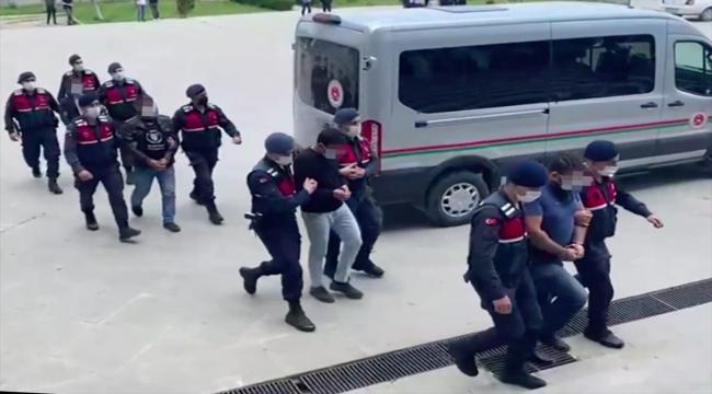 Silah kaçakçılığı operasyonu: 5 tutuklama