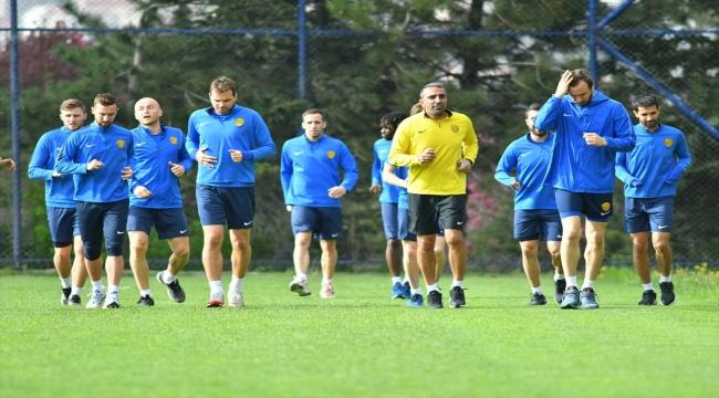 MKE Ankaragücü, Gaziantep maçının hazırlıklarına başladı
