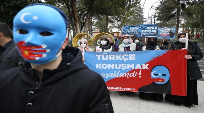 Nevşehir'de İHH, Çin'in Uygur Türklerine yönelik politikasını kınadı
