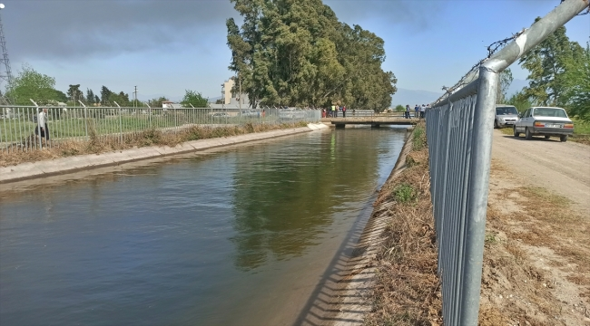 Osmaniye'de sulama kanalında akıntıya kapılan 4 çocuktan 2'si kurtarıldı, 2'si kayboldu