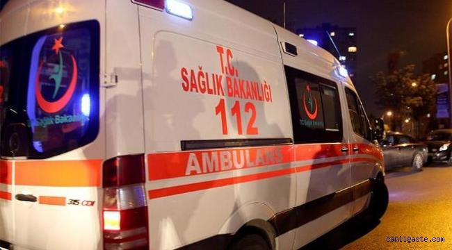Otomobille tır çarpıştı: 2 ölü, 2 yaralı