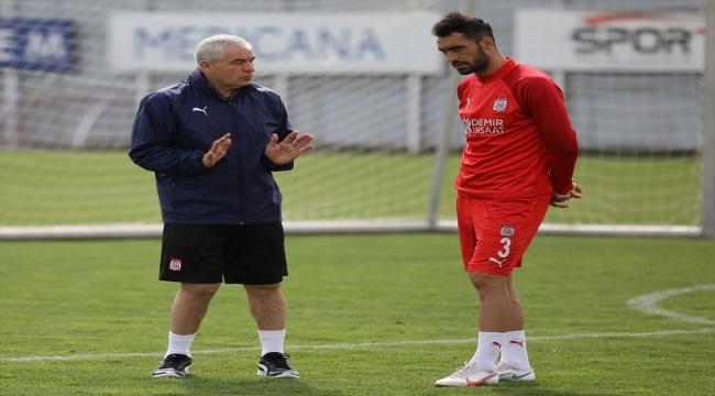 Sivasspor, Yeni Malatyaspor maçının hazırlıklarını tamamladı