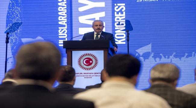 """TBMM Başkanı Şentop'tan """"yeni anayasada çalışan hakları"""" vurgusu:"""