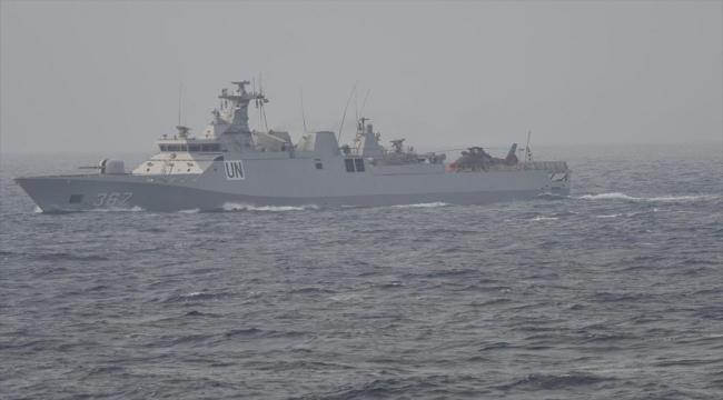 """TCG Heybeliada gemisi Endonezya'nın kayıp denizaltısı için """"KRI Nanggala Dua Edin"""" çağrısı yaptı"""