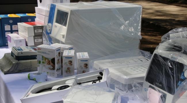 TİKA Kuzey Makedonya'ya tıbbi malzeme ve teknik donanım desteğinde bulundu