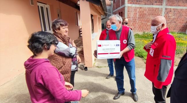 Türk Kızılay'dan Kosovalı ihtiyaç sahiplerine ramazan yardımı