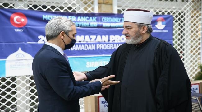 Türkiye Diyanet Vakfı, Sırbistan'da ramazan paketi dağıttı