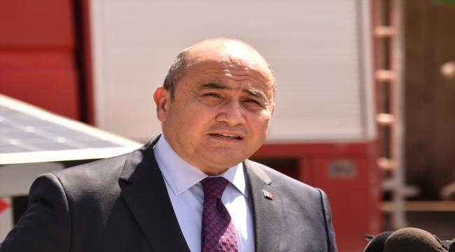 Türkiye, KKTC'ye yangın gözetleme kamerası ve güneş panelleri hibe etti