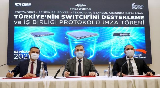 """Türkiye'nin verisinin güvenliğini """"Türkiye'nin Switch""""i sağlayacak"""