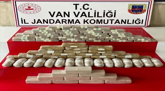 Van'ın İran sınırında 51 kilogram eroin ele geçirildi
