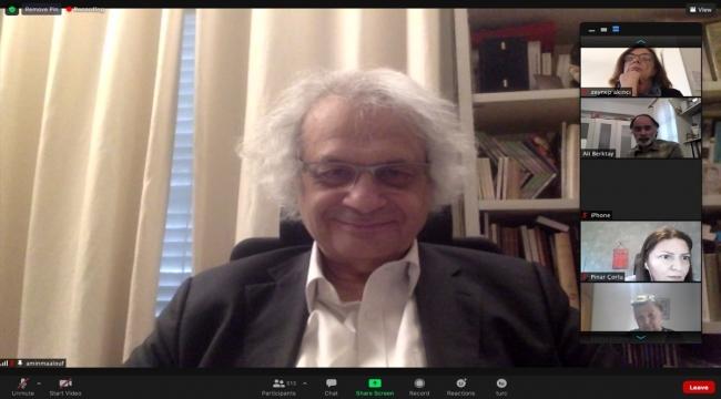Yazar Amin Maalouf, Institut français'in Edebiyat Salonu'na konuk oldu: