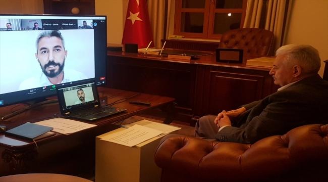 AK Parti Genel Başkanvekili Yıldırım'dan İsrail'in saldırılarına ses çıkarmayan ülkelere tepki: