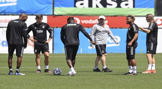 Beşiktaş'ta Galatasaray derbisi hazırlıkları