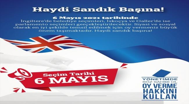 """Birleşik Krallık'ta yaşayan Türk kökenli vatandaşlara """"6 Mayıs seçimlerinde sandığa gidin"""" çağrısı"""