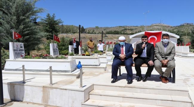 Elazığ Garnizon Şehitliği'nde anma töreni düzenlendi