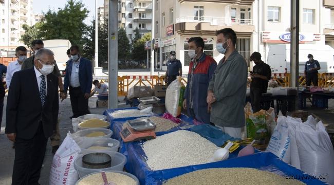 Kayseri'de kısıtlama sırasında açık olacak pazar yerleri belirlendi (8-15 Mayıs)