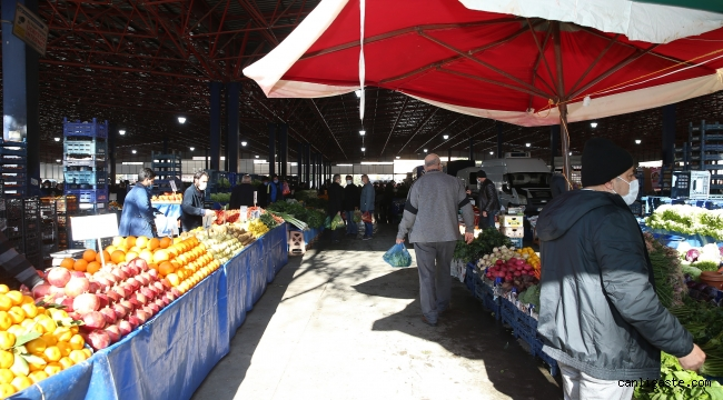Kayseri'de kısıtlamada açık olacak pazar yerleri için yeni düzenleme
